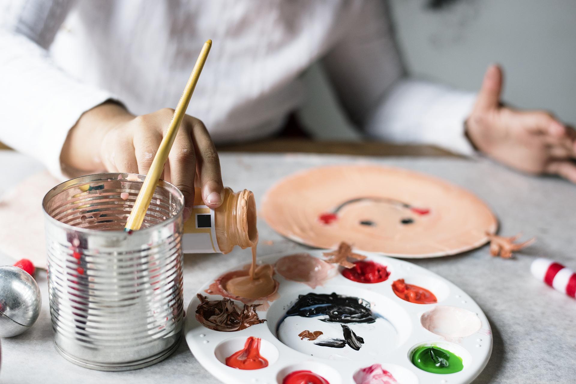 Einige Künstler verwenden Sativa um ihre Kreativität anzuregen.