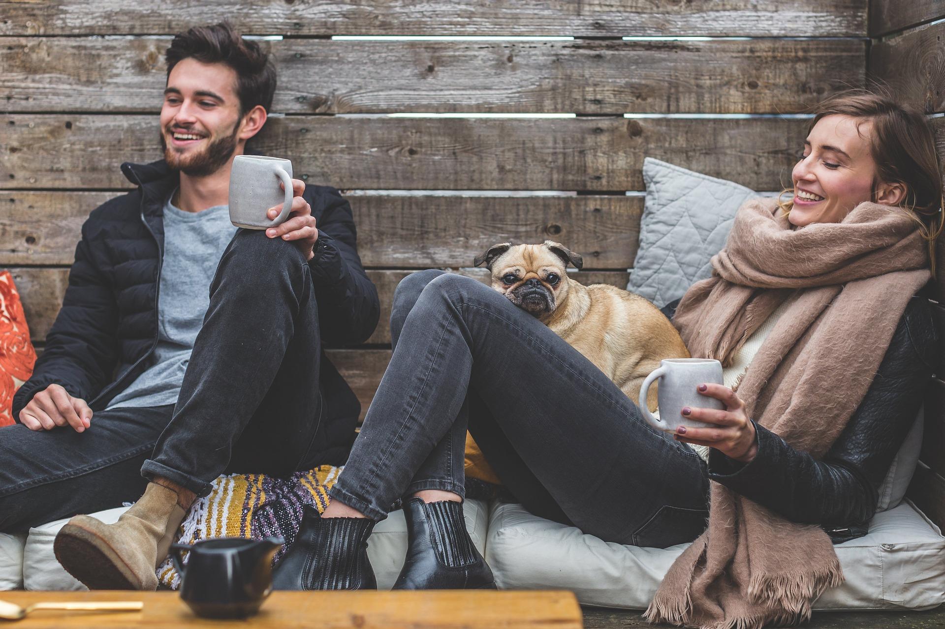 Serotonin und Dopamin sorgen für Glücksgefühle und Entspannung.