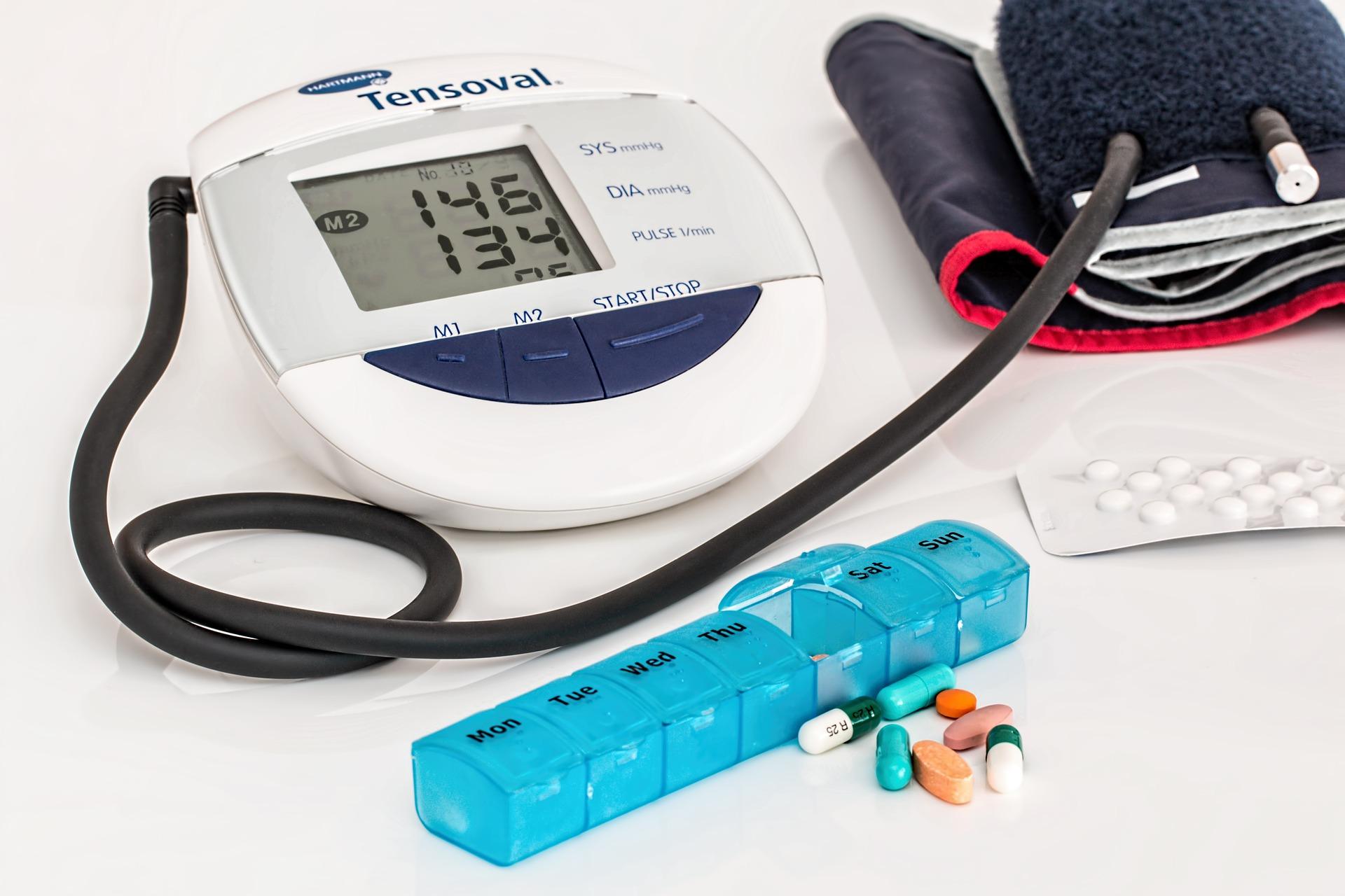 Eine der Nebenwirkungen von CBD Öl ist ein niedriger Blutdruck.